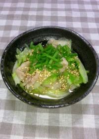 醤油麹で♪豚肉と白菜の簡単煮物