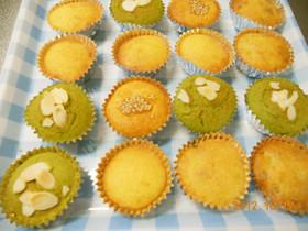 簡単♡ヘルシー♡カップケーキ