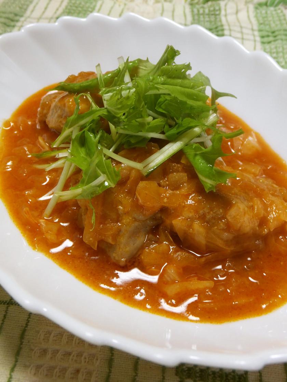 鶏のケチャップ煮
