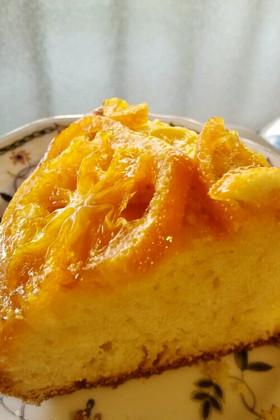 HMとみかん材料5つ簡単オレンジケーキ