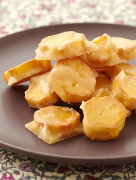 サツマイモの飴がけ生姜風味