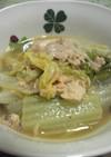 水いらず★白菜と鮭缶の煮物