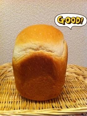 HBで早焼きふんわり食パン