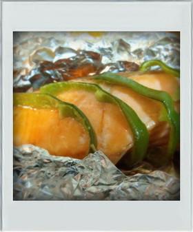 ■糖質制限■鮭ホイル焼き簡単南蛮漬お弁当