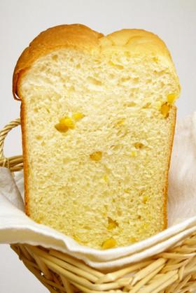 *塩麹コーン食パン*(HB早焼きコース)