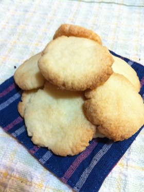 トースターで1人前クッキー♥