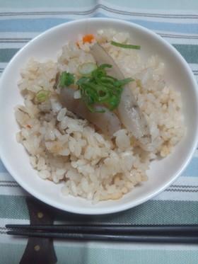 ★☆豚汁リメイク炊き込みご飯☆★