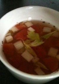 【21日間ダイエット】セロリのスープ