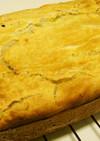 もち粉+栗ペーストケーキ