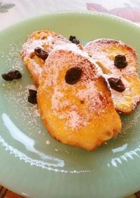 ヘルシー甘味料であっさりフレンチトースト