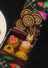 ロリポップクッキー(米粉入り)