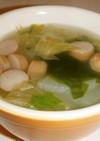 簡単な中華春雨スープ