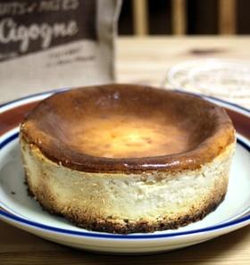 材料これだけ。私の鉄板NYチーズケーキ