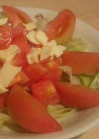 トマトたっぷり♪サラダ