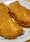 鶏ささみのピカタ カレー風味