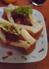 タコストーストサンド(ポケサン)