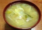 風邪に負けない!白菜と白ネギのお味噌汁