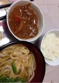 うどん(カレー変化お薦め!)