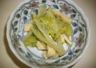 白菜とうす揚げの煮物