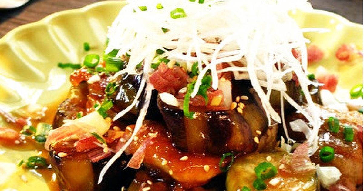 ■鶏肉と茄子のポン酢照り焼き・和風仕立て by ポルチーニきのこ