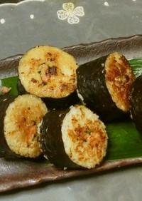 ピリ辛醤油焼き海苔巻