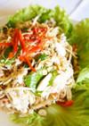 チキンとバナナの花のサラダ@カンボジア
