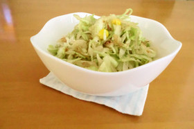 ☆キャベツと玉ねぎだけ☆簡単サラダ