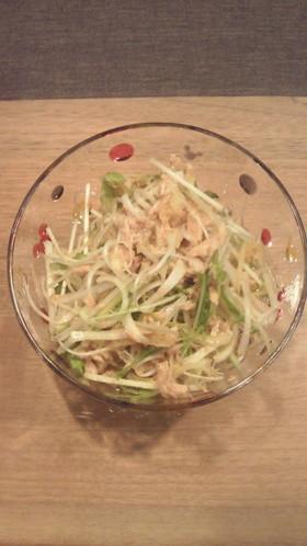 超簡単!水菜と白ネギのシーチキン和え by emipocco 【クック ...
