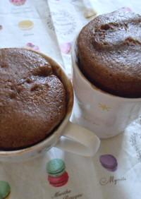 美味しい☆ふわふわレンジマグカップケーキ