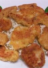 パパッとおかず№11 鶏肉のチーズカツ