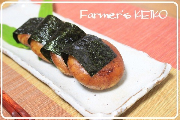 【農家のレシピ】じゃがいも餅の磯辺焼き