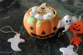 ハロウィンモードかぼちゃぷりん