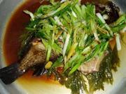 蒸し魚(清蒸魚)の写真