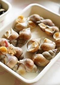貝の煮ふくませ
