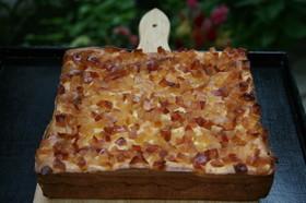 甘じょっぱい✧ 林檎の塩チーズケーキ♪