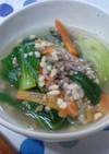 高野豆腐入りヘルシー中華スープ
