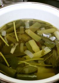 野菜のスープストック