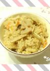 ヘルシー☆きのことレンコンの炊き込み御飯