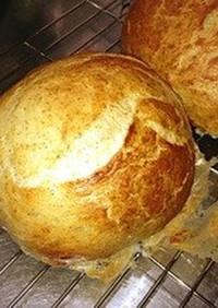 初心者簡単ふわパリパリライ麦フランスパン