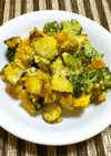 蒸し鶏と温野菜のサラダ