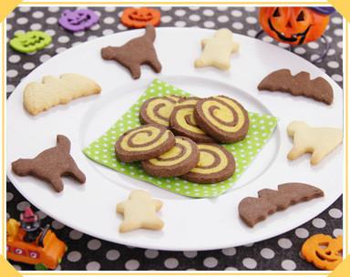 ハロウィンカラー*アイスボックスクッキー