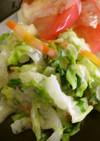 めっけもん♪白菜と余り野菜の簡単サラダ★