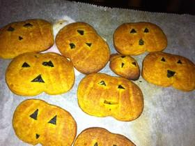 計量ざっくり かぼちゃクッキー覚書