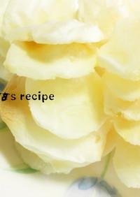 レンジ✜片栗ヨーグルトの薄焼ポン菓子風✜
