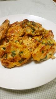 お弁当にも♪鶏胸肉の味噌ピカタの写真