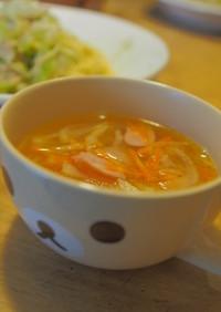 小説の料理再現・根菜コンソメスープ