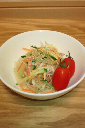 緑豆春雨&もやしの中華サラダ