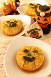 *ハロウィンに☆かぼちゃプリン2*の写真