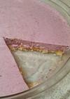 ブルーベリージャムdeレアチーズケーキ♪
