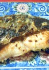 鮭のゆず胡椒焼き